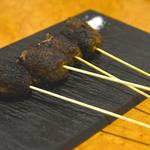 里芭歩樹 - 山城牛と松茸のサルシッチャ