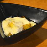 里芭歩樹 - 北海道契約牧場のラクレットチーズをトロ〜リじゃがいもに