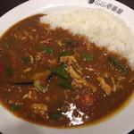 CoCo壱番屋 - チキンと夏野菜カレー ¥823 + 3辛 ¥63