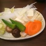 38694803 - 野菜バーで取ってきた野菜