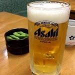 なると 本店 - 生ビールは550円で北海道でお初~☆アサヒでした。