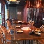 日本橋 ぼんぼり - 1階:テーブルは16席