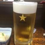 かとりや - 生ビール 590円