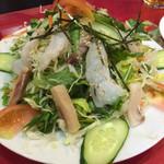 ニュープラシッダ - 海鮮サラダ(750円)