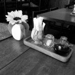 DiningBarTOMATO - テーブルの上。
