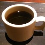 小樽食堂 - セルフのコーヒー