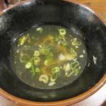 油``油`` - 麵食後の和風鶏スープ