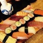 錦寿司 - ランチ 握り1.5人前