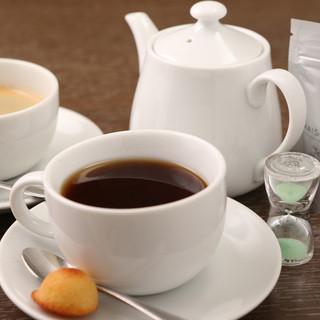 こだわりのコーヒー・紅茶☆