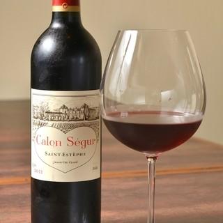 料理に合ったワインをご提供します。