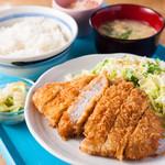 シャンティ サガー - 【ランチ】ロースカツ定食