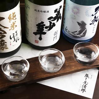 東北名産の厳選した日本酒を多数取り揃え!