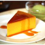 会津壹番館 - かぼちゃプリンケーキ