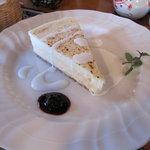 3871774 - 2層からなるチーズケーキ