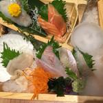 北海道魚鮮水産 - 刺身盛り合わせ