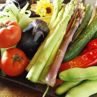 厳選された野菜達