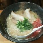 阿吽 - 塩トンコツラーメン600円