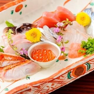篠島直送鮮魚!旬の新鮮魚介料理