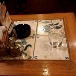 珈琲 はなや - 私のテーブル