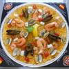 ビバパエリア - 料理写真:たっぷり魚介のシーフードパエリア