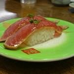 寿司虎 鹿屋本店 - 漬けマグロ(194円)