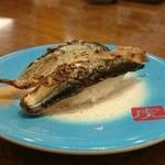 寿司虎 鹿屋本店 - 炙りさんま(162円)