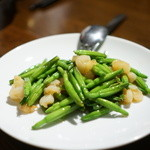 中国菜 膳楽房 - 金針菜とエビの炒め