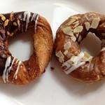 ミスタードーナツ - チョコレートナッツとキャラメルアーモンド