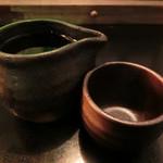 千栄乃和 - 宮城「日高見 純米超辛口」700円。