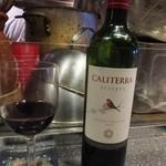 シャンウェイ - カリテラ。ワインは選択肢が減った。