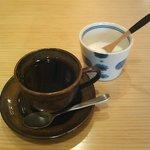 GIRASOLE - ランチセットのコーヒー