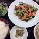 泰南飯店 - 海老と野菜の炒め物