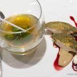 月夕堂 - 黒蚫、肝と赤ワインのソース【2015年5月】