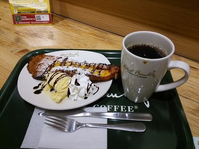 ロバーツコーヒー 福岡大名店 - フレンチトーストとホットコーヒー♪