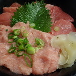Akihabaragyokoukaikai - 生まぐろ中落ちネギトロ丼