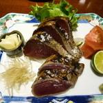 土佐料理 司 - 鰹の塩たたき