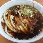 新井製麺所 - 半玉盛(うどん)