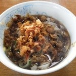 新井製麺所 - 半玉盛(きしめん)