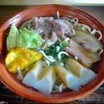 和喜川屋 - 料理写真:ミックスそば