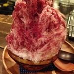 38729837 - 赤ワインのかき氷