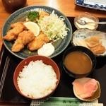 みかどや - カキフライ定食(季節)