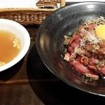 38730463 - 特製ローストビーフ丼(1200円)