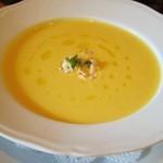 38730894 - ランチA:カボチャの冷製スープ