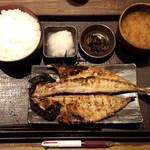 38732429 - あじの開き定食700円+ご飯大盛り50円