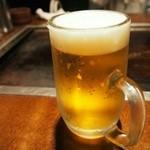 狸狸亭 なにわ元町 - ビール