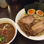 ONE - 2015/6/5辛つけ麺ONE1030円中盛り