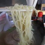 38736119 - 塩玉ラーメンの麺
