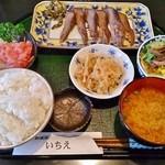 いちえ - 料理写真:東仙台塩竈焼牛タンランチ(第一土曜日限定)1,000円