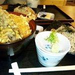 丸福 - 天丼セット