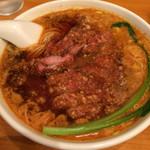 我流担々麺 竹子 - パイコウタンタン麺1000円